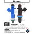 1100cc ASNU Nissan GTR R35 Injector Set
